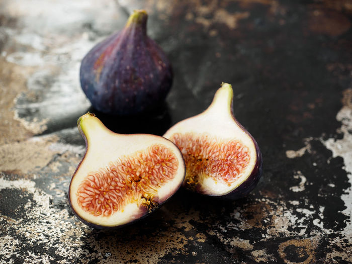 Blue Figs Blue Figs Close-up Figs Food Fruit Healthy Eating Still Life Sweet Fruit