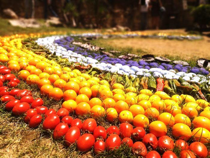 Close-up of fruits at market stall