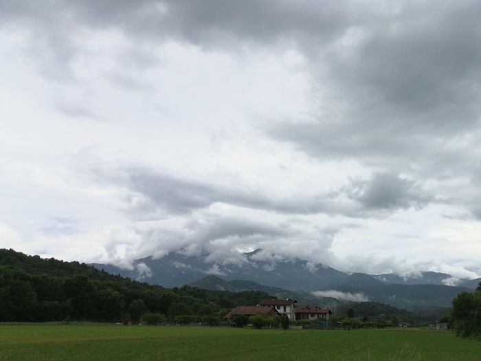 Clouds Cloudy Day Cloud In The Sky Mountains Italy