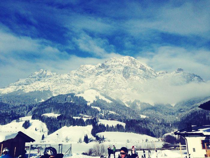 Ski Saalbach Hinterglemm Beer Breathtaking View Winter Snow Flashback 2014 Nostalgia 🎿❄️