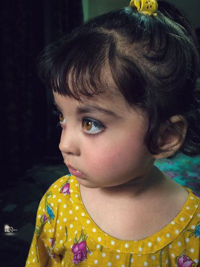 Zooni's Portrait... iPhone 5s. https://m.facebook.com/Nainsgallery/ Childhood Real People One Person Headshot Indoors  Close-up Girls Lifestyles Day People HDR Cuteness Overload Girl Babygirl Portrait Portrait Of A Woman Portrait Photography Amazing View Pind Indoor Photography Studio Studiolights Natgeo Sky Biryani