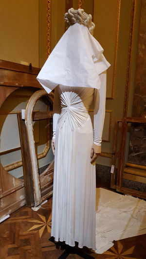 EyeEm Selects Wood - Material No People Indoors  Wedding Dress Fashion Fashion Photography Palazzo Pitti Florence Mise En Scene Firenze Exhibition Museum Dress Haute Couture Italy Italia Be. Ready. Fashion Stories The Fashion Photographer - 2018 EyeEm Awards