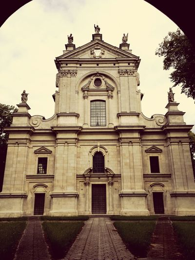 Bażanka Polandsights Polandisbeautiful Poland 💗 Świętokrzyskie Poland Church Barok Baroque White