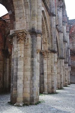 San Galgano Architecture Built Structure History Ancient The Past Religion Building Exterior