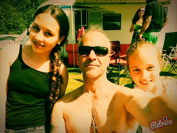 Retrica✌ Camping Popular Photos Me And My Doughters