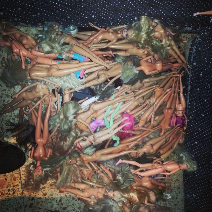 Art dolls Barbiedoll Trash Renovated Refurbished