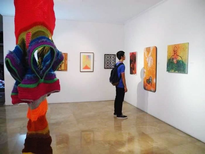 Art and good vibes. Eyeem Philippines Iphonephotography Mobilephotography Art Art Gallery Manila EyeEmNewHere