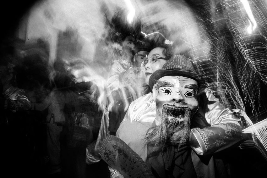 Chinatown, Singapore. 2017 © Chit Min Maung http://www.cmmaung.me/ The Chingay parade, the annual largest street performance and float parade in Asia, appeared in Chinatown, Singapore this year to bring thee celebrations to a great height but also marking the end of the Chinese New Year Celebrations. Adult Chinatown Chinese New Year Chingay2017 Cmmaung Cmmaungme Doll Flash Photography Night People Real People Singapore Slow Shutter Spooky Street Photography Streetphoto_bw The Street Photographer - 2017 EyeEm Awards The Week On EyeEm The Street Photographer - 2018 EyeEm Awards