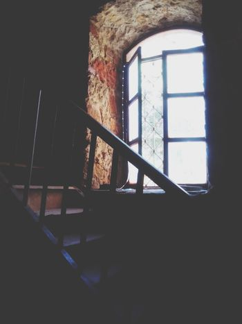 Window Light And Shadow Antiques Stairs
