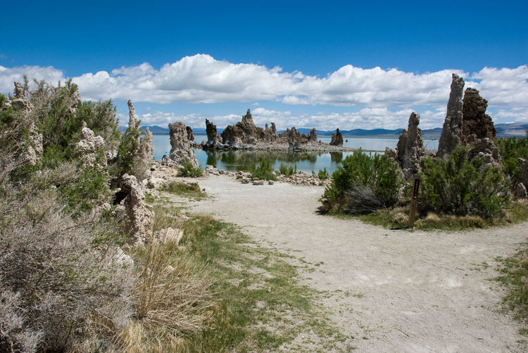 America Beauty In Nature California Clouds Day Geology Lake Landscape Mono Lake Nature No People Outdoors Sky Travel Destinations Tuff USA