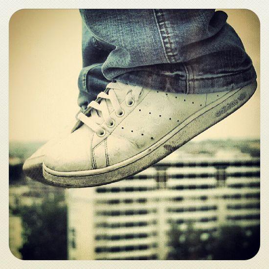 Là d'où je viens certains n'ont pas mis les pieds. By Miloud Kerzazi Sneackers Adidas Hood