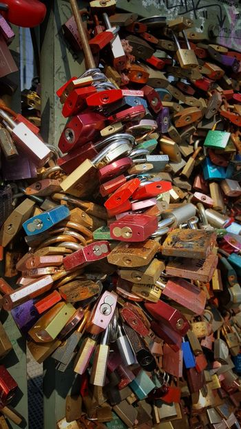 Large Group Of Objects Multi Colored No People Outdoors Hope Close-up Love Lock Communication Love Lovers Locks Lovers Point Lover Not A Fighter Locks Of Love Lockers Architecture Cologne Hohenzollernbrücke Travel Destination City Germany
