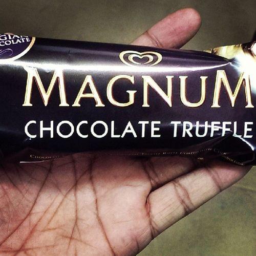 Finally had it... Wait ws finally worth it Magnum Belgian  Chocolate Icecream yummy