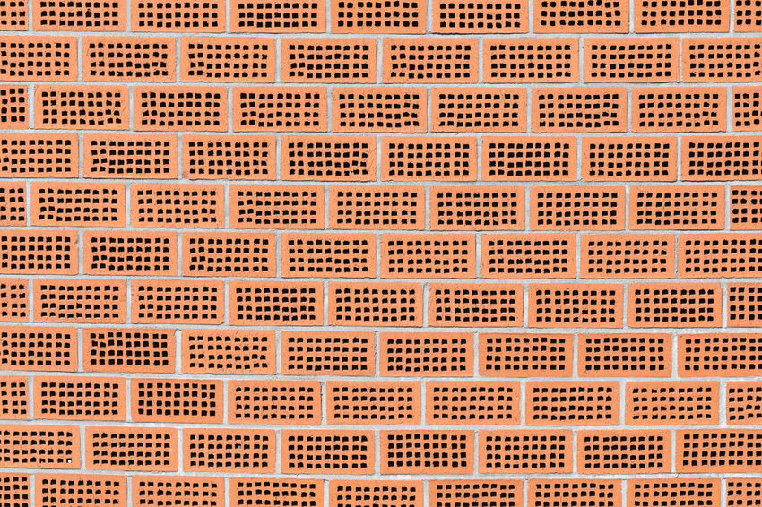 Full frame shot of orange colored brick wall made of perforated bricks Architecture Brick Wall City Spotted Sunlight Sunny Abstract Abstract Backgrounds Backgrounds Brick Building Exterior Building Feature Close-up Concrete Design Full Frame Geometric Shape Hollow In A Row Large Group Of Objects Orange Color Outdoors Pattern Repetition Textured