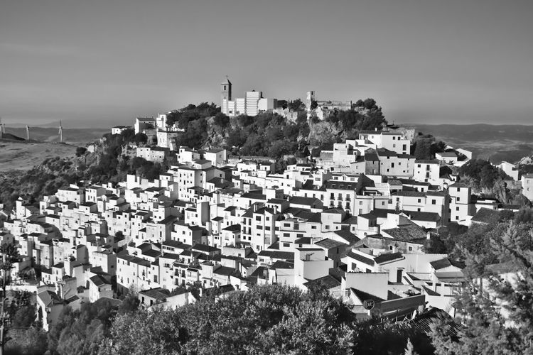 Casares Townscape Against Sky