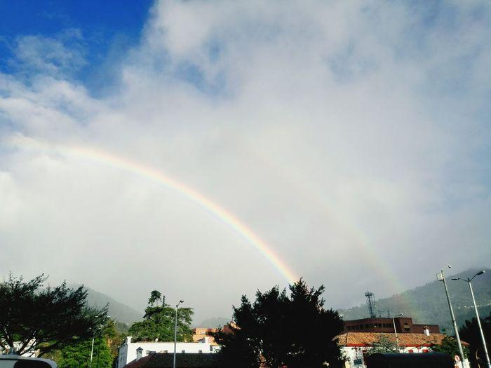 Rainbow weird Wheather