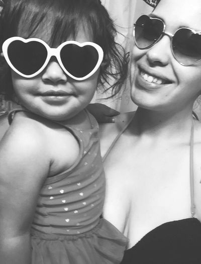 Girls just want to have fun 💜 My Daughter Babygirl Stunna Shades On ;) My Universe