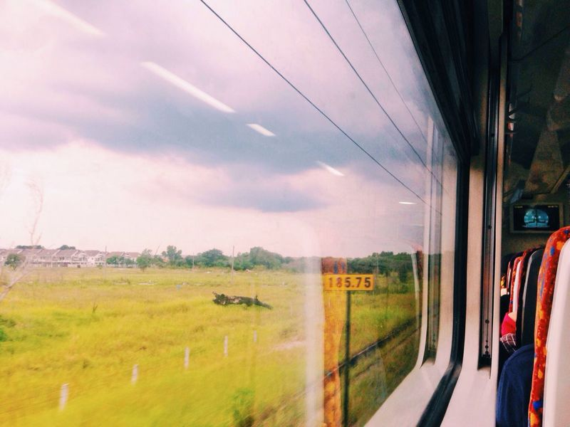 // NEVER • STOP // VSCO VSCO Cam Transportation Mode Of Transport Framing The World Travel capturing motion Window On The Move Sky Glass - Material Cloud Day Road Trip Journey Cloud - Sky Outdoors Frame It! Frame Window View Window Frame Window Reflections Through The Window Through The Glass Power Line  The Drive