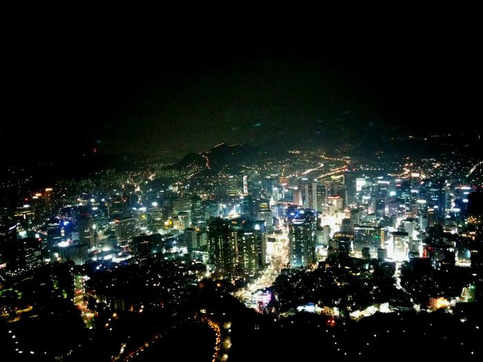 남산타워 Namsan Tower  야경 Night Landscape