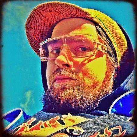 Self Portrait Cazal Vintage Sunglasses On The Road