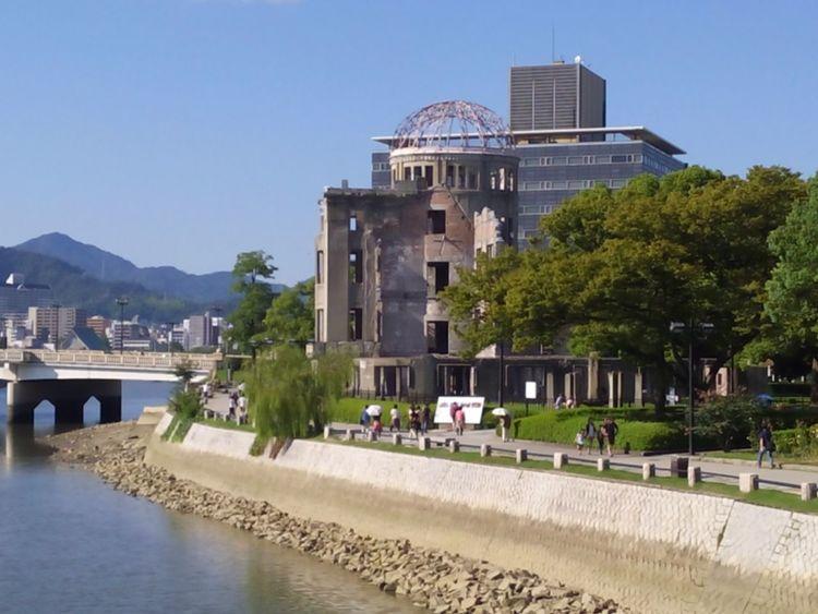 Monuments Hiroshima EyeEm Japan Japon Hiroshima,japan Japan Japan Photography The Purist (no Edit, No Filter) No Filter, No Edit, Just Photography At 原爆ドーム (Atomic Bomb Dome)