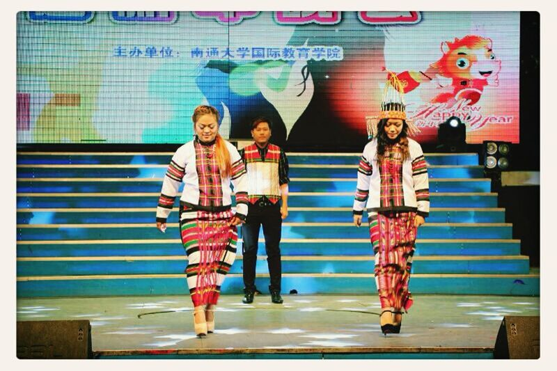 2014 New Year's celebration, mizo Traditional Dresses  Nantong