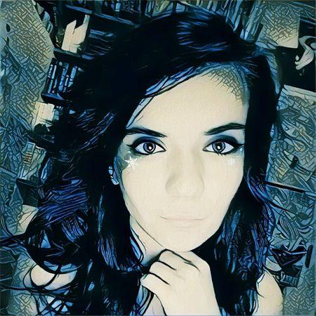 Portrait Only Women Prisma App Young Women Hungary Beauty Xoxo Blue