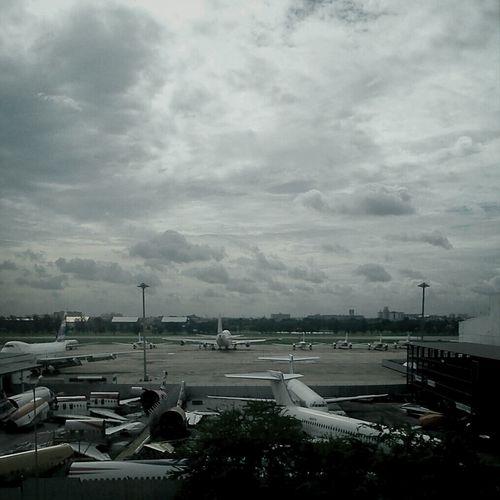 Airport Airplane Bangkok
