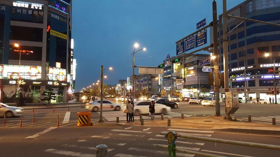 Gunsan Korea Walking Around