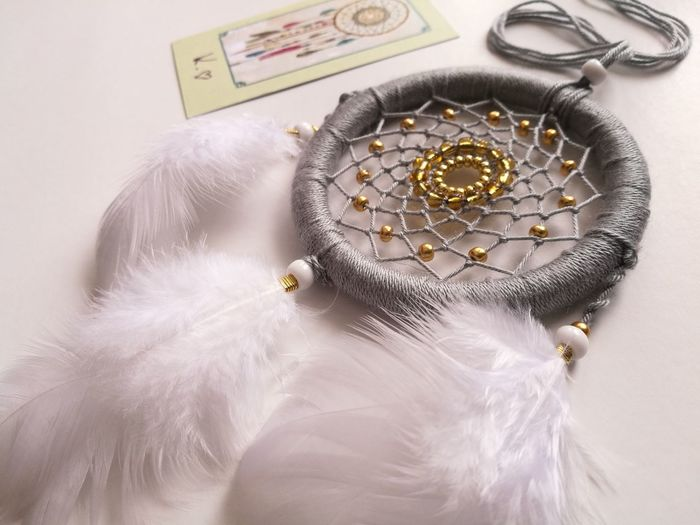Dreamcatcher, Handmade, Handmadegifts Dreams, Positivenergy, Madebykristine Daylight White Background