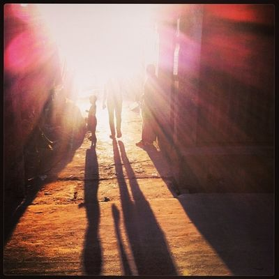 Sun Ray Winter Evening Light Shadow Daily Life Chaktai Chittagong City Instagram