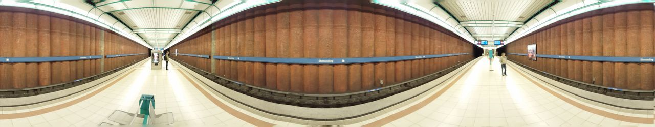 Munich underground station Obersendling 360 Galaxy Google Cardboard Munich Panorama Public Transportation Samsung Underground Virtual Reality Vr