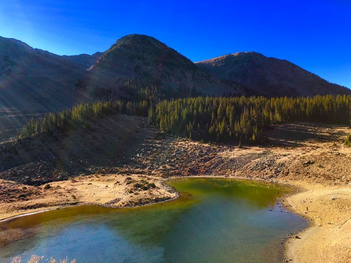 Lake at 11000 feet Tranquility Scenics Nature Tranquil Scene Beauty In Nature Mountain Landscape