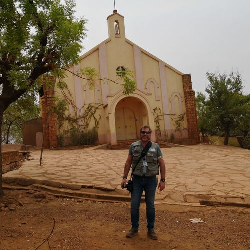 Iglesia de los Padres Blancos Full Length Men Standing Portrait Politics And Government Front View Tree Sky Historic Building Cathedral Office Building Dome Mosque Archway Place Of Worship Historic Visiting Residential Structure