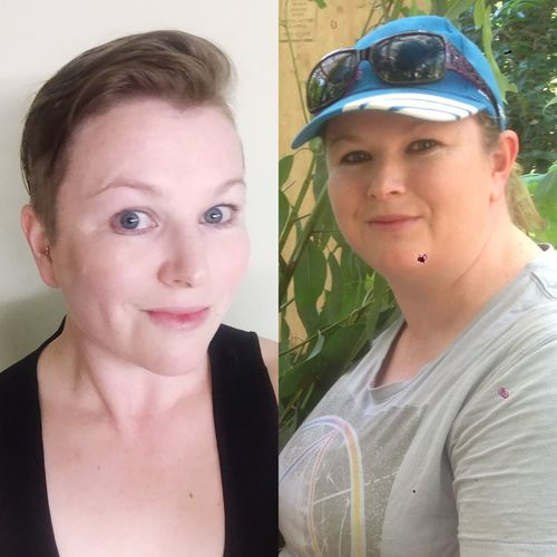 Weightloss BeforeAndAfter  6 Months This Is Me..... now.... and above all i am Happy