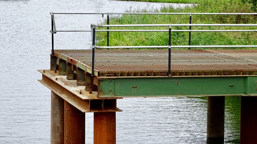 Water Built Structure No People Railing Architecture Day Nature