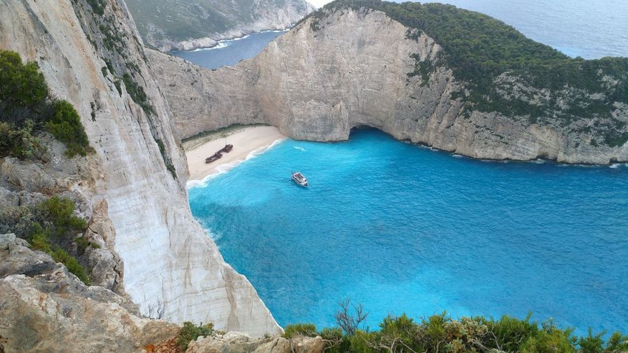 Zaroka Wraku Zakynthos Beauty In Nature Nature