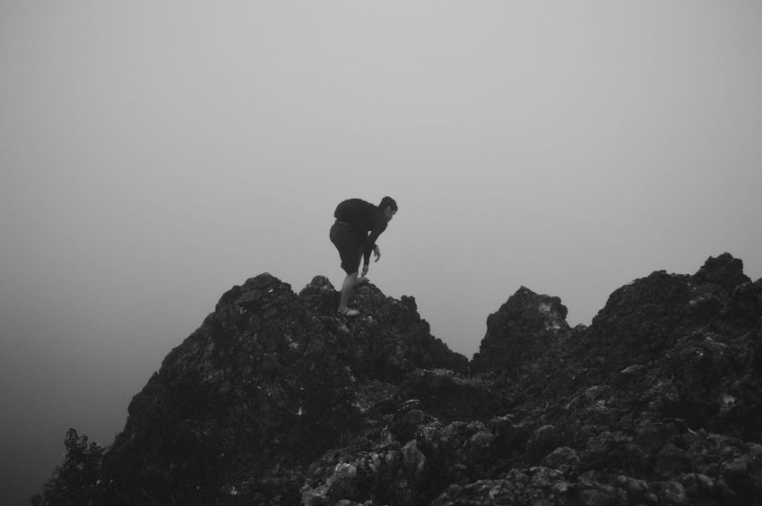 Osmeña Peak Trekking Travelling Photography Wanderer Outdoors Photograpghy  Bnw_collection People Photography EyeEm Gallery EyeEm Best Shots EyeEm Nature Lover Traveller Top Of The Mountain Foggy Morning Enjoying The View