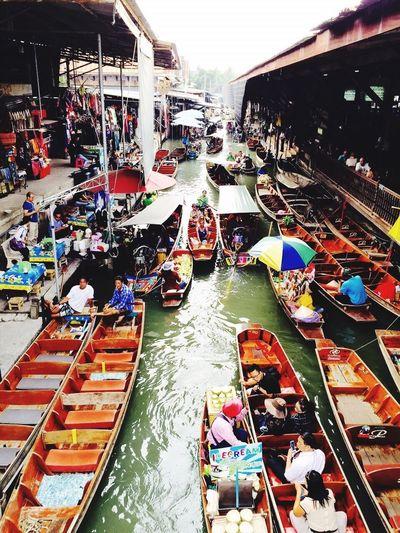 Floating Market Ratchaburi Thailand