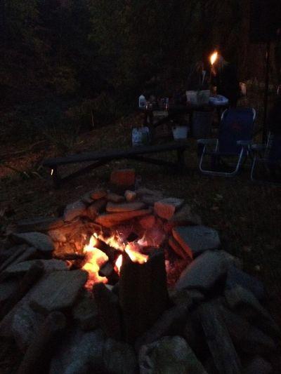 Great bonfire after sunset MyExoticFriends LaDolceVita Sunset Bonfire Night ATouristInMyOwnCity