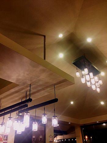 Lights At Café. Eye Em! LRCorporal EyeEm Vision Eyeem Philippines Eyeemph Eyeem Market Malolos City