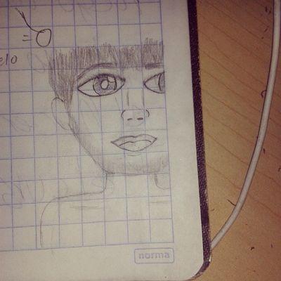 Soy toda una artista, jajaja, lo que hace el aburrimiento en física. :c