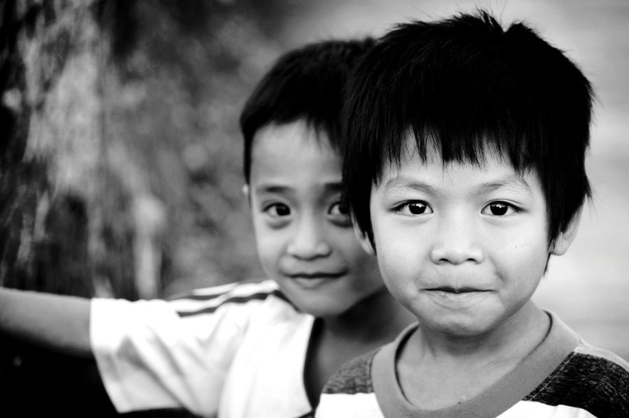 The Human Condition Children Portraits EyeEm Best Shots Asian  Vietnam Smile Innocence Happiness ♡ Peace And Love Countryside