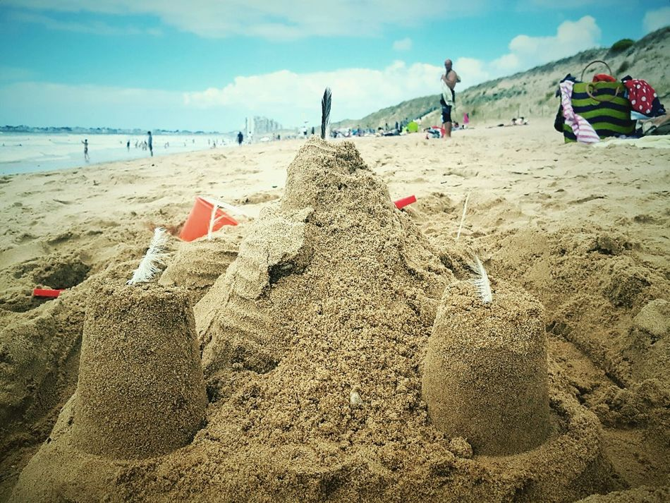 This Is Summer day 18. Sandcastles Beach Summer Holidays Windy Day Summer Fun