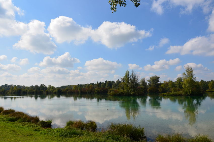 Nikon Beauty In Nature Day Growth Lake Nature No People Outdoors Scenics Sky Tranquil Scene Tranquility Tree Water Weitmannsee