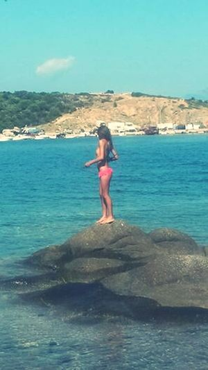 Xalkidiki Greece That's Me Topless Natural Photography :)