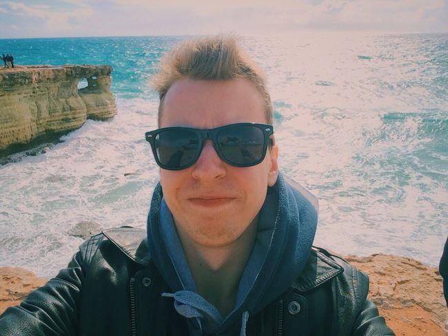 Selfie vol. 1 Selfie ✌ Self Portrait That's Me Hi! Hello World Taking Photos Enjoying Life Erasmus Photo Diary Erasmus Sea