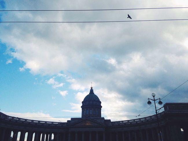 Питер казанский собор смотри вверх ближе к небу