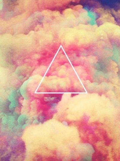 swag#illuminatie#triangle#sky#pink#blue