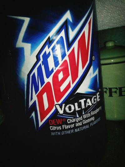 Hi welcome to my strange addiction. Ashley here only drinks blue mountain dew because she doesnt like green. Caffine